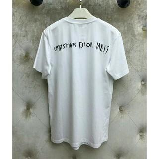 ディオール(Dior)のDiorデイオール Tシャツ ホワイト 男女兼用(Tシャツ/カットソー(半袖/袖なし))