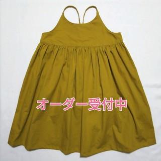 エプロンワンピース ☆ハンドメイド(ワンピース)