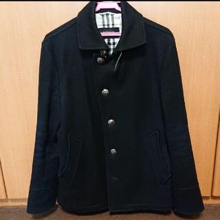 バーバリーブラックレーベル(BURBERRY BLACK LABEL)のBURBERRY ブラックレーベル ピーコート ジャケット コート(ピーコート)