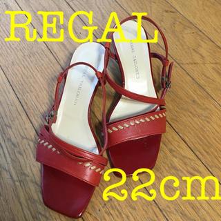 REGAL - REGAL サンダル 22センチ