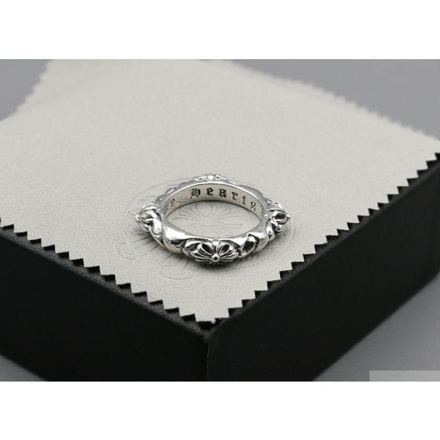 Chrome Hearts(クロムハーツ)のK98クロムハーツ クロスリング メンズのアクセサリー(リング(指輪))の商品写真