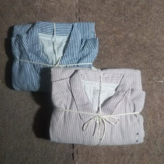 MUJI (無印良品) - 無印良品 婦人用二重ガーゼパジャマ2点