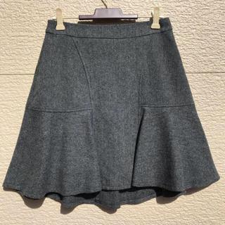 ニジュウサンク(23区)の23区 スカート グレー 34(ひざ丈スカート)