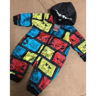 BABYDOLL - baby doll 70〜80 ミッキー ジャンプスーツ アウター 防寒