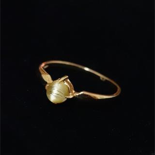 ルチルクォーツ リング k18(リング(指輪))