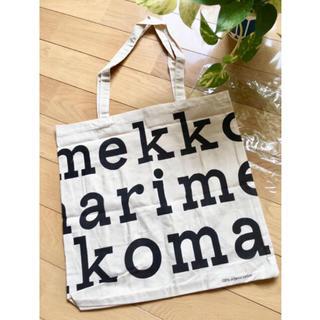 マリメッコ(marimekko)のマリメッコ トートバッグ 新品 ブラック(トートバッグ)
