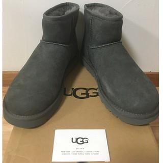 UGG - 【新品】 UGG クラシックミニⅱブーツ(グレー:約23.5〜24cm)