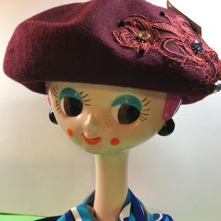 ユキコハナイ(Yukiko Hanai)のYukiko.Hanai.....ベレー帽……新品未使用(ハンチング/ベレー帽)