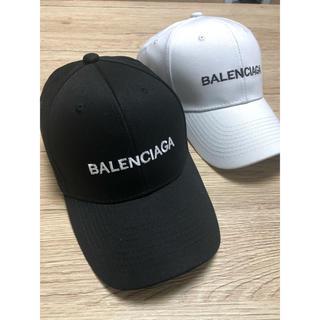 バレンシアガ BALENCIAGA  ホワイト 白 新品 キャップ 帽子