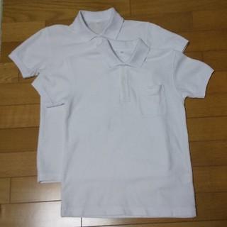 ベルメゾン - 🍀 通学用ポロシャツ  140 半袖 ×2枚 🍀