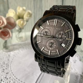 BURBERRY - 【美品】BURBERRY バーバリー BU1373 腕時計 ブラック