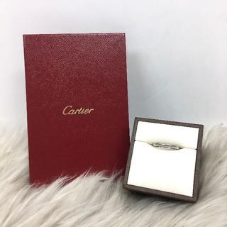 カルティエ(Cartier)のカルティエ ウェディングリング 結婚指輪 PT950(リング(指輪))