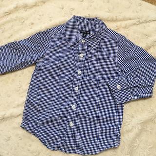 ベビーギャップ(babyGAP)の100cm baby Gap チェックシャツ(ブラウス)