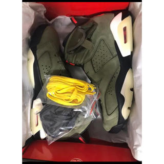 NIKE - nike × travis scott air jordan 6 27.5cm