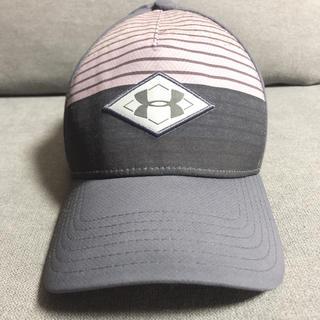 アンダーアーマー(UNDER ARMOUR)の【アンダーアーマー】緑 スポーツ帽子(キャップ)
