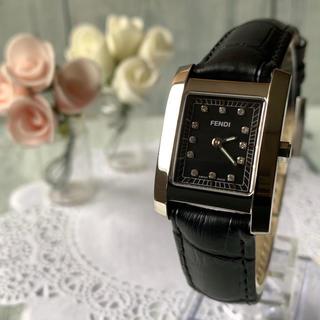 フェンディ(FENDI)の【電池交換済み】FENDI フェンディ 腕時計 7000L 12P ダイヤ(腕時計)