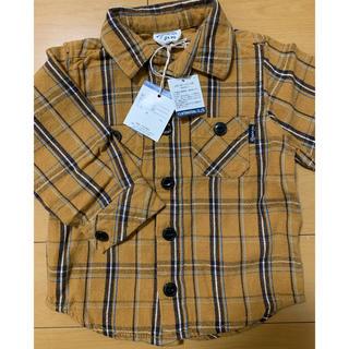 BREEZE - BREEZE チェックシャツ 90
