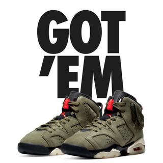 NIKE - 23.5cmAIR JORDAN 6 travis Scott ジョーダン 6