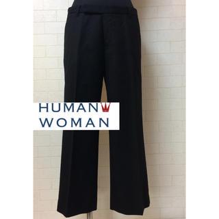 ヒューマンウーマン(HUMAN WOMAN)のHUMAN WOMAN パンツ ヒューマン ウーマン(クロップドパンツ)