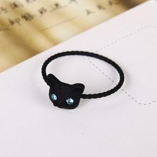 黒猫リング No.21(リング(指輪))