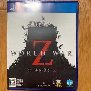 PlayStation4 - PS4日本語版ワールドヴォーZ