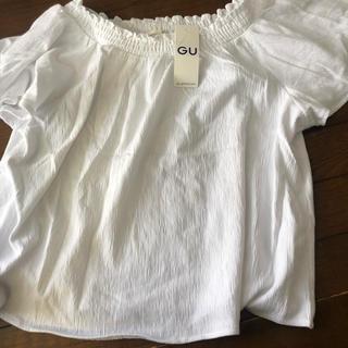 ジーユー(GU)のトップス GU(シャツ/ブラウス(半袖/袖なし))