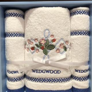 WEDGWOOD - 新品未使用☆ウェッジウッド  バスタオル1枚とフェイスタオル2枚