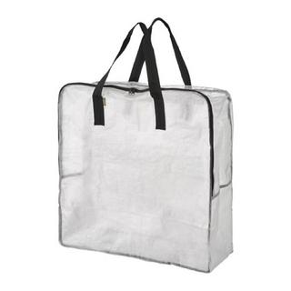 IKEA - DIMPA ディムパ 収納バッグ, 透明, 65x22x65 cm