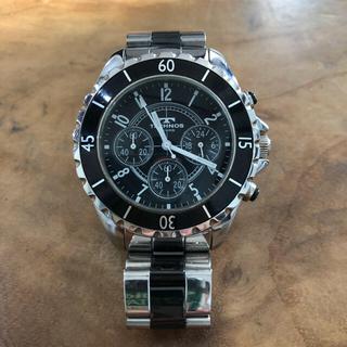 TECHNOS - TECHNOS テクノス 腕時計  クロノグラフ 値下げ