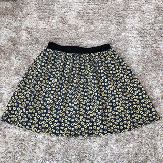 ビームス(BEAMS)の【美品】BEAMS ビームス  スカート ミニ 花柄(ミニスカート)