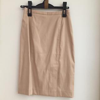 ミッシェルクラン(MICHEL KLEIN)の【MK】スカート  S(ひざ丈スカート)