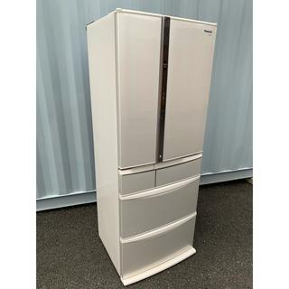 Panasonic - Panasonic 冷凍冷蔵庫 自動製氷 6ドア エコナビ ナノイー搭載451L