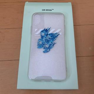 オフホワイト(OFF-WHITE)のoff-white  スカル iphone case(iPhoneケース)