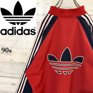 adidas - 【激レア】アディダスオリジナルス☆ビッグロゴ サイドライン トラックトップ90s