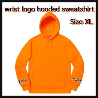 シュプリーム(Supreme)の【XL】wrist logo hooded sweatshirt(パーカー)