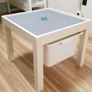 レゴプレイテーブル 収納BOX付き 枠付き(その他)