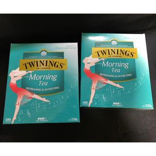 KALDI - Twining トワイニング 紅茶 モーニング 100パック 2個セット