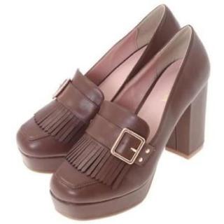 リズリサ(LIZ LISA)のLIZ LISA クラシックベルトローファー 新品 未使用 送料込み(ローファー/革靴)