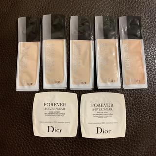 ディオール(Dior)のDior ファンデーション  サンプル(ファンデーション)