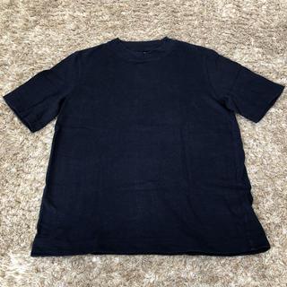 UNIQLO - 【美品】UNIQLO ユニクロ Tシャツ ネイビー
