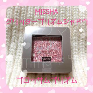 MISSHA - 新品◎ MISSHA * ミシャ グリッター プリズム シャドウ ブロッサム