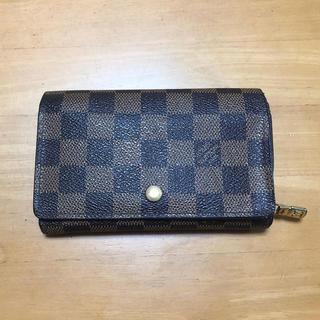 ルイヴィトン(LOUIS VUITTON)のLOUIS VUITTON 財布 ダミエ ジャンク品(財布)