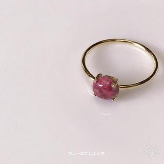 秋色レッド☆*:.。. 希少‼︎チューライトリング(リング(指輪))