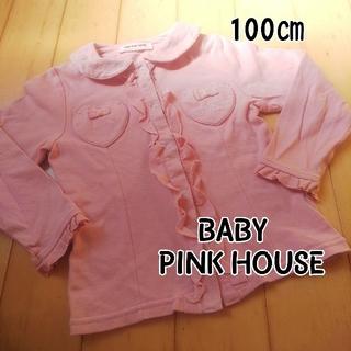 ピンクハウス(PINK HOUSE)のベビーピンクハウス★ブラウス風カットソー(Tシャツ/カットソー)