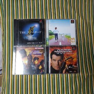 プレイステーション(PlayStation)のプレイステーション 007 スノボー どこでも タイムクライシス(家庭用ゲームソフト)