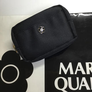 マリークワント(MARY QUANT)のマリークワント スクエアポーチ オーロラストーン【新品未使用】(ポーチ)