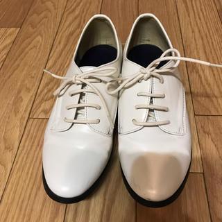 アナザーエディション(ANOTHER EDITION)のAnother Edition ホワイトシューズ(ローファー/革靴)