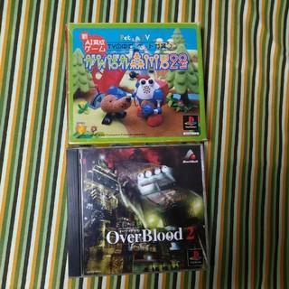 プレイステーション(PlayStation)のプレイステーション オーバーブラッド2(説明書無) がんばれ森川君2号(家庭用ゲームソフト)