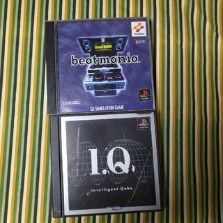 プレイステーション(PlayStation)のプレイステーション IQ(帯有) ビートマニアケース破損(家庭用ゲームソフト)