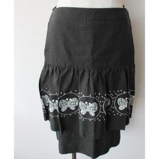 ミナペルホネン(mina perhonen)の新品  mina perhonen スカート(ひざ丈スカート)